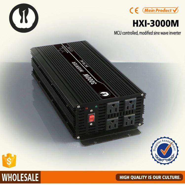 full power isolated circuit 24vdc power inductive load 3000w 3kw 3kva 12v power inverter with 6 years production experience