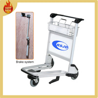 Aluminum Luggage airport trolley