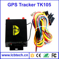 Vehicle Tracking System GPS Tracker tk105 with GSM Alarm and fuel sensor