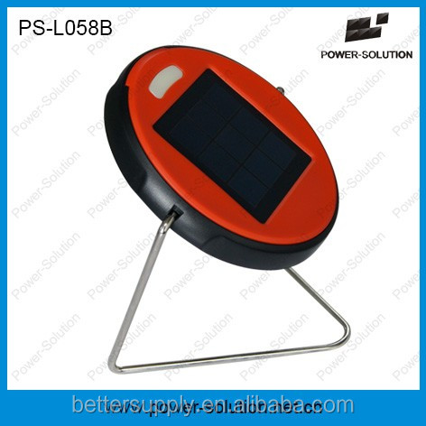 High Quality Portable Solar Desk Reading Lamp PS-L045B For Indoor & Outdoor Lighing Reading Studying