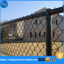 PVC Coated Used Garden Chain Link Fence For Sale Factory Price RP