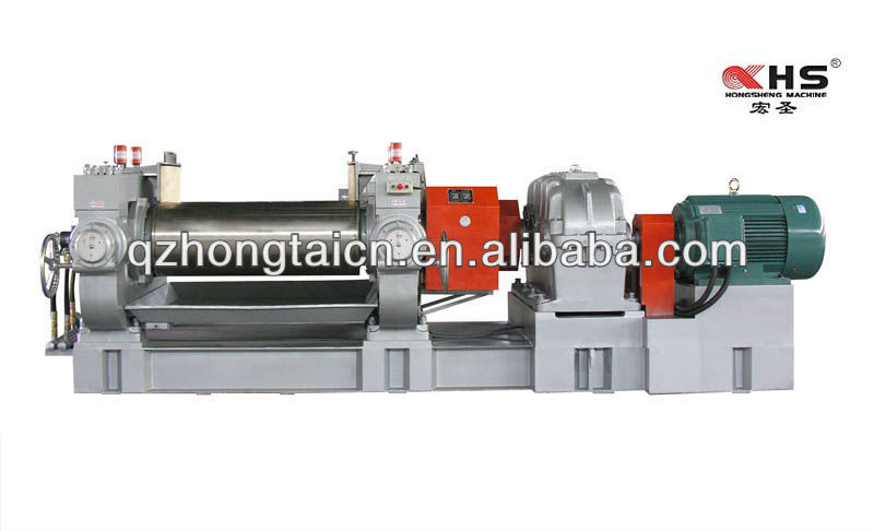Rubber compound two roll mill