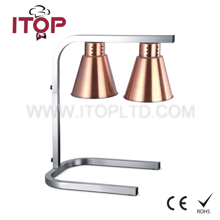 Infrared heating lamp