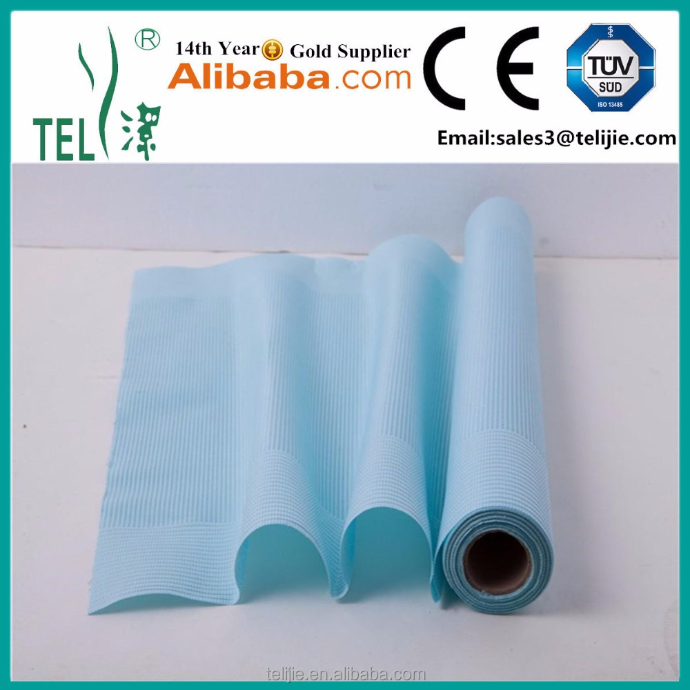 disposable hospital surgical check non woven bed sheet /sheet cover in roll