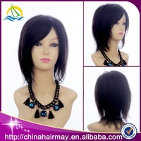 Wholesale Cheap Aliexpress 100% Human Remy Virgin India Hair Wig Price