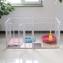 Eco friendly large dog run / galvanized dog kennel / iron pet fence china manufacturer