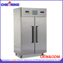 Refrigeration equipment stainless steel fan cooling blast freezer / refrigerator freezer / fridge freezer with CE