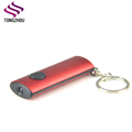 Promotional Gifts Aluminum Material souvenir led flashlight keychain