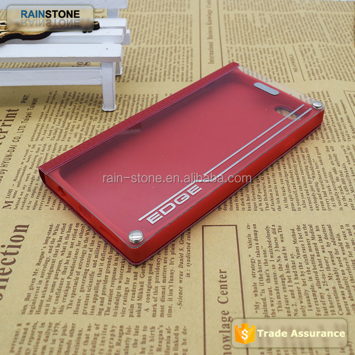 Alibaba express for iphone 5S leather flip case with bumper view