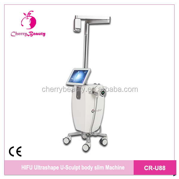 Video head hifu ultrashape skin tightening body shaping machine 2019 high class 4D system body slimming machine