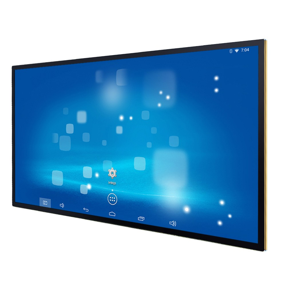 Trade assurance Android 4.4 Quad Core 1GB RAM 16GB 55 inch 1920*1080 IPS 55 inch advertising player