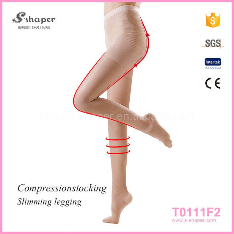 Women Wholesale Brand Black Sexy Foot Legs Compression Pantyhose Nylon Silk Stockings