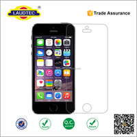 9H hardness 2.5D round edge anti-radiation tempered glass screen protector for iphone 5 SE &iphone6 plus