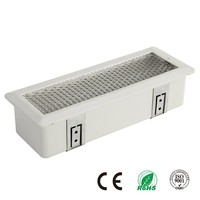 Rechargeable Emergency Fluorescent Ceiling Recessed Light Fitting