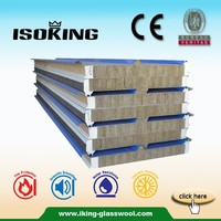 Roof and Wall Rock Wool Sandwich Panels