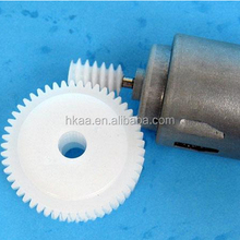 high quality electric motor white custom toy plastic worm gear