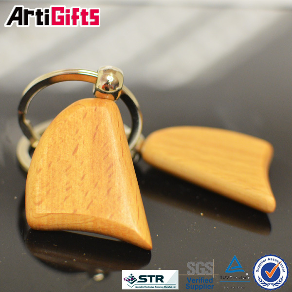 Hot selling wooden key chain with name