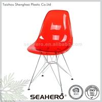 Plastic material furniture custom abs bar chair