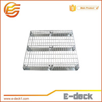 galvanized metal nestable durable wire mesh decking