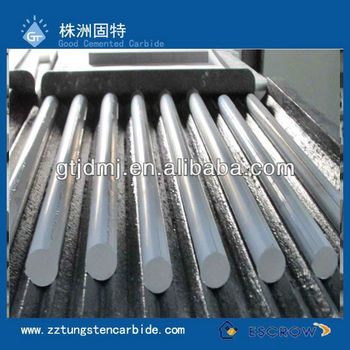 Carbide graphite fishing rod blanks