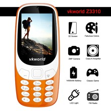 Dual SIM Cards Vkworld Cheap Cell Phone 2.4inch Big Button Mobile Phone 3310