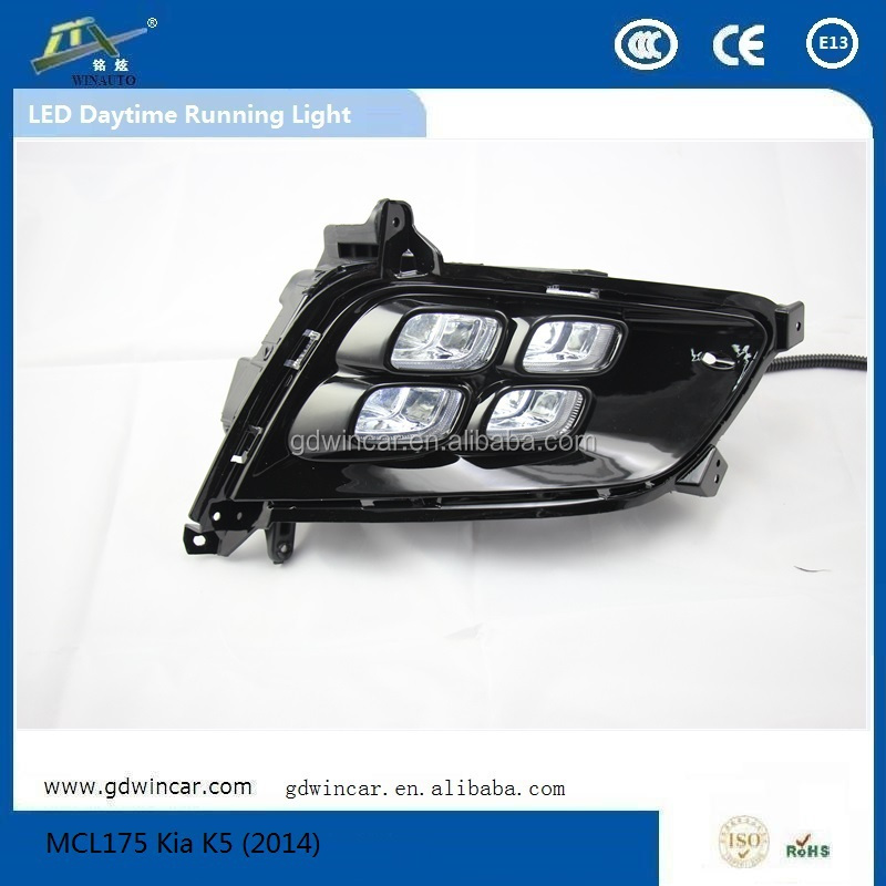 (2014)Newest Flexiblecar led tuning light for Kia K5 LED Daytime Running Lights