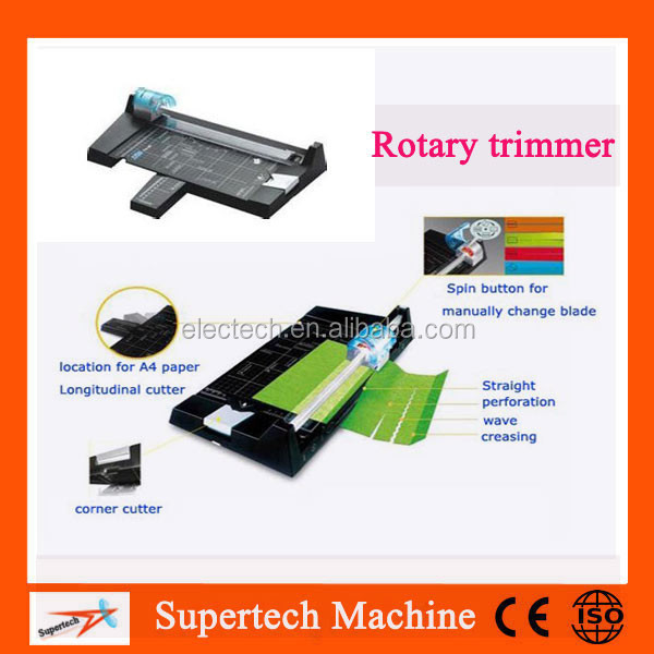 A4 Wave Shape Paper Sheeter Machine