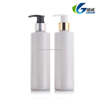 PET clear recyclable water plastic bottle for cosmetic,200ml pet on plastic bottles