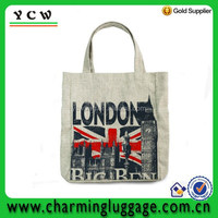 new jute linen shopping bag wholesale shoulder handbag london