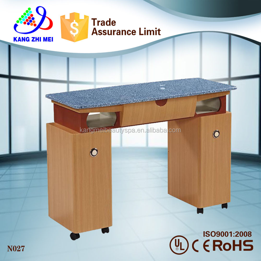 salon furniture high quality movable nail manicure table