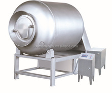 Vacuum tumbler machine for meat