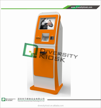 payment kiosk with magnetic head card reader automatic dog water dispenser