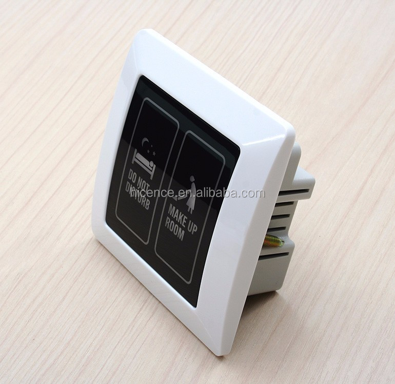 Smart LCD Hotel Touch Doorbell with DND MUR ROOM No.