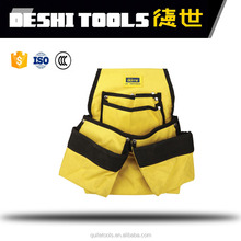Rolling tool bag with tubular handle polyester heavy duty with wheel