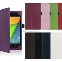 PU Leather Protective Case Stand Cover For 7 Inch ASUS Google Nexus 7 2nd 2 Gen Tablet Cases