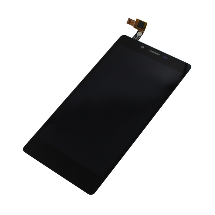 LCD with Touch Screen for Xiaomi Redmi Note Black White complete assembly folder