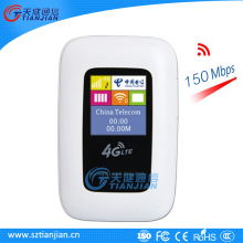 Free Shipping 150Mpbs LTE 4G Wifi Hotspot Router With SIM Card Slot