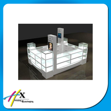 led acrylic jewelry display showcase stand shopping mall jewelry kiosk design