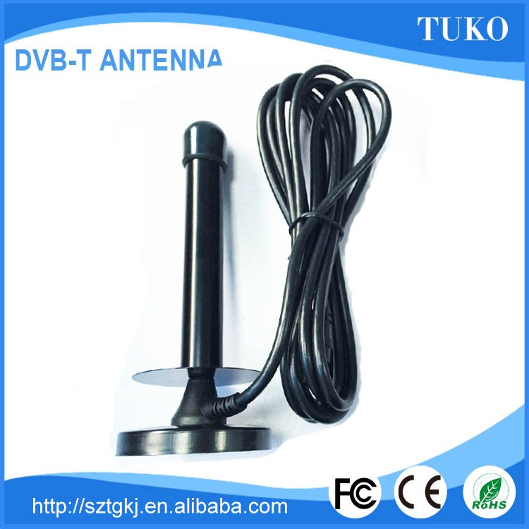 Factory price made in china high gain dvb-t indoor tv uhf vhf tv antenna designer with 25db 50 mile