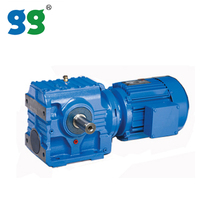 Shanghai Goldgun S series helical worm gear motor reducer