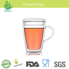Glassware Home Goods wholesale Handcrafted Insulated Borosilicate Coffee tea Mugs