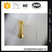 "3/8"" plastic push fit connector of BLD1606PF female for bathroom equipment with John Guest cartridge push fit connector"