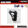 Wholesale LED universal leather gear shift knob cover
