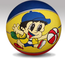 Customized Logo Official Size Rubber Basketball Size 4