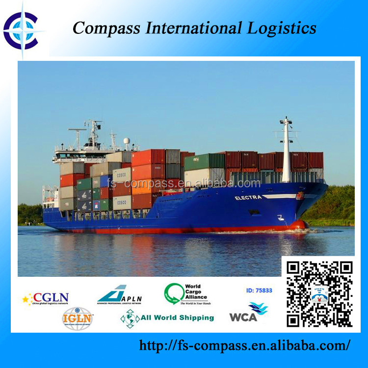 China sea freight forwarder with best rate to Casablanca Morocco shipping container logistics