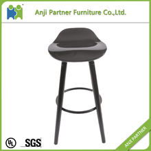 plastic fixed bar stool with legs and affordable price(Banyan)