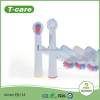 EB17A replaced toothbrush heads rubber bristle toothbrush