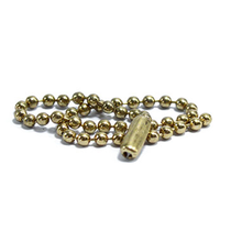 Wholesale customized good quality gold color metal wave chain for bag