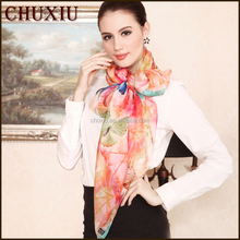 Graceful Ladies' Personalized Printing Scarf Silk Scarf