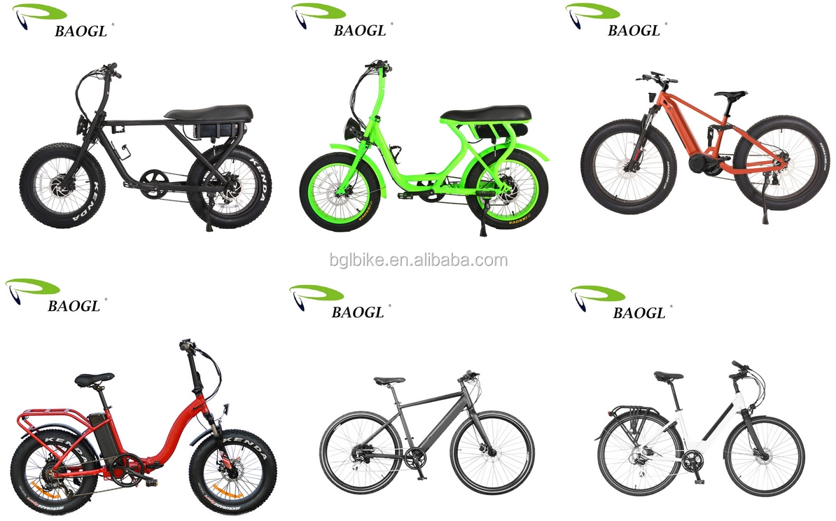New Velo Electrique Fat Tire Sport E bike Mountain Ride Electric Bike 26'' Electric Bicycle